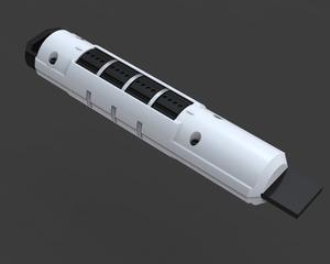 LockM, a USB lockable drive prototype by ThingM