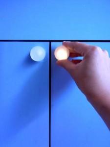 An image of ThingM's Glowpull digital domestic jewelry