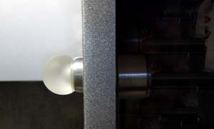 Glowpull, a smart cabinet knob prototype by ThingM
